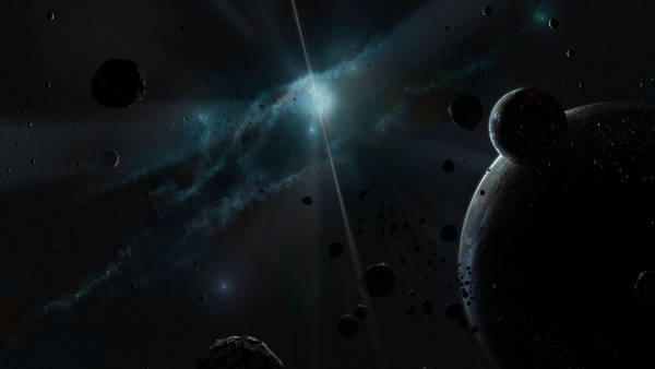 Deep Space Asteroids