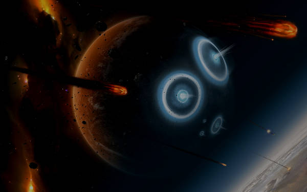 Planet War in Space